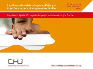 Las líneas de asistencia para niñ@s y su importancia para el acogimiento familiar