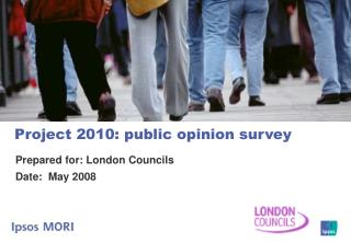 Project 2010: public opinion survey