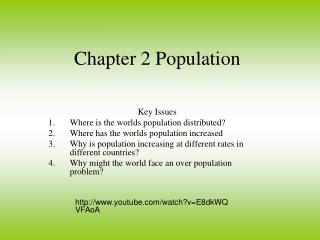 Chapter 2 Population