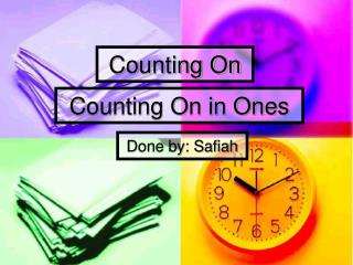 Counting On in Ones