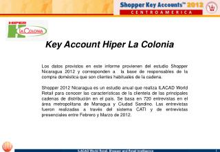 Key Account Hiper La Colonia