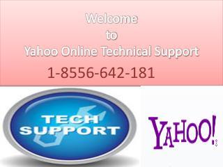Yahoo Technical Help Phone Number 1-8556-642-181