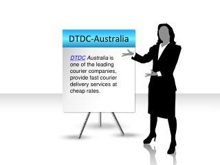 International Courier Service-DTDC Australia