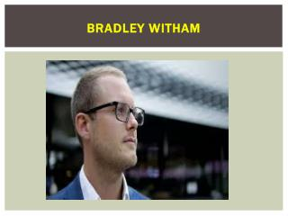 Bradley Witham - Creative Furniture Designer