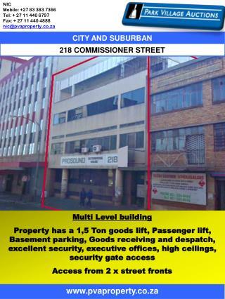 Multi Level building