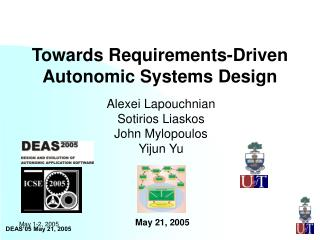 Towards Requirements-Driven Autonomic Systems Design