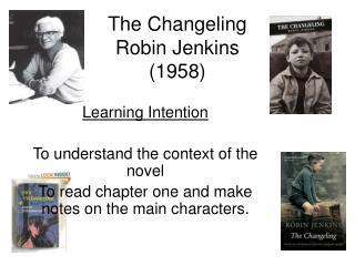 The Changeling Robin Jenkins (1958)