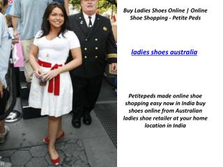 Online Shoe Shopping, Specialists in ladies shoes - Petite