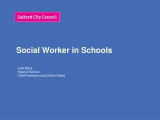 Social Worker in Schools