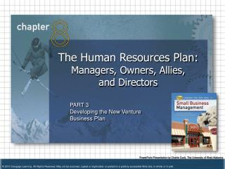 The Human Resources Plan:  Managers, Owners, Allies,  and Directors