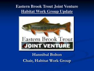 Eastern Brook Trout Joint Venture           Habitat Work Group Update