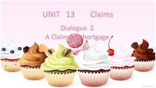 UNIT   13        Claims