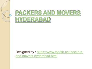 expert working packers and movers hyderabad