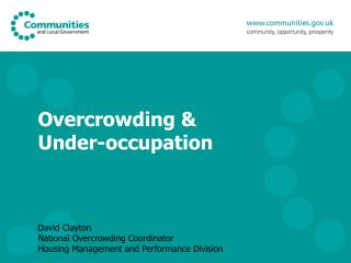 Overcrowding & Under-occupation