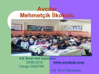Avcılar Mehmetçik İlkokulu