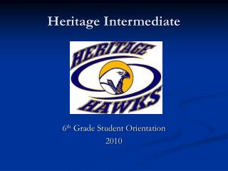Heritage Intermediate