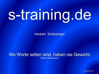 S-training.de    Herbert  Schlesinger