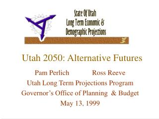 Utah 2050: Alternative Futures
