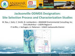 JACKSONVILLE  ODMDS  DESIGNATION