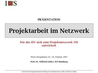 Projektarbeit im Netzwerk