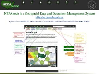NEPAnode  is  a Geospatial Data and Document Management System nepanode.anl