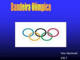 Bandeira Olímpica