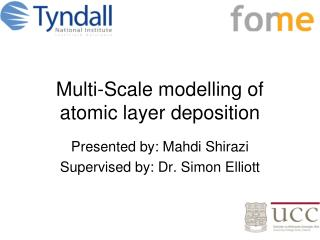 Multi-Scale modelling of atomic layer deposition