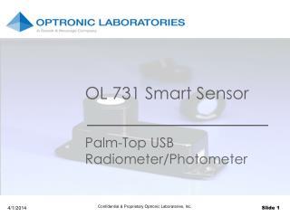 OL 731 Smart Sensor