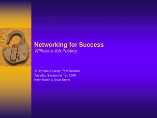 Networking for Success Without a Job Posting