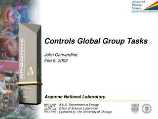 Controls Global Group Tasks