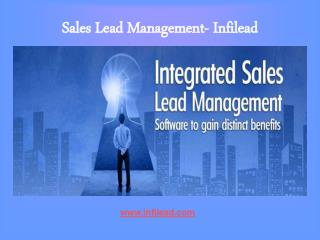 Sales Lead Management- Infilead