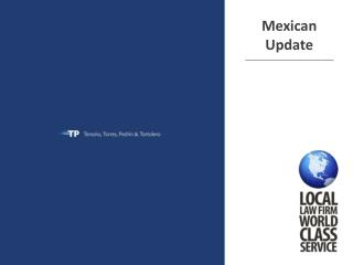 Mexican Update ______________________________