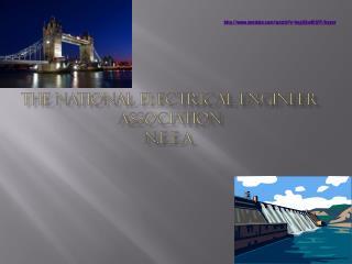 The national electrical engineer association   N.E.E.A.