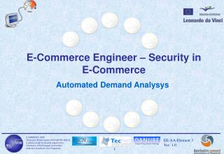 E-Commerce Engineer – Security in E-Commerce