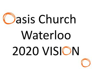 asis  Church Waterloo 2020 VISI   N