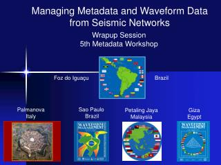 Wrapup Session 5th Metadata Workshop