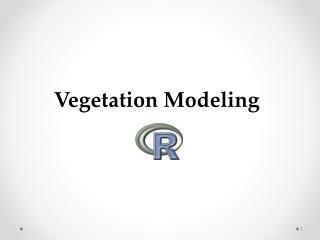 Vegetation Modeling