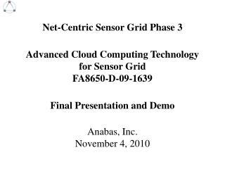 Anabas, Inc. November 4, 2010