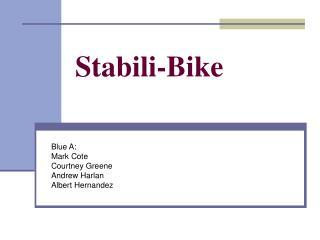 Stabili-Bike