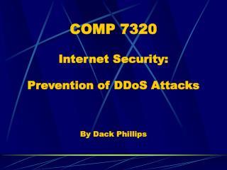 COMP 7320
