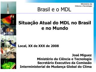 Brasil e o MDL