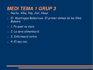 MEDI TEMA 1 GRUP 3