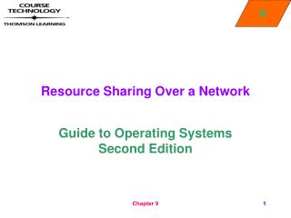 Resource Sharing Over a Network