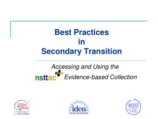 Best Practices  in  Secondary Transition