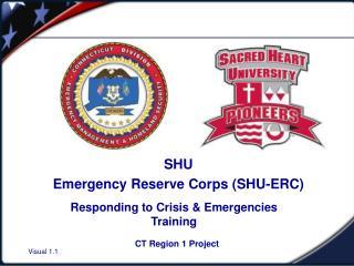 SHU Emergency Reserve Corps (SHU-ERC)