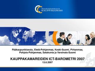 ICT-toimialat L�hde: Tilastokeskus