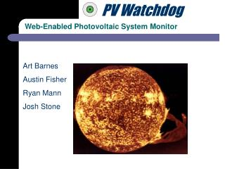 Web-Enabled Photovoltaic System Monitor