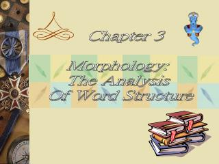 Chapter 3  Morphology:  The Analysis  Of Word Structure