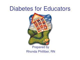 Diabetes for Educators