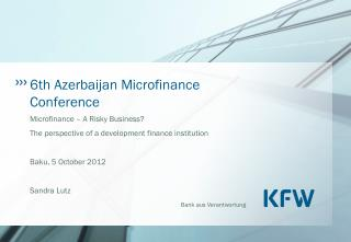 6th Azerbaijan Microfinance Conference